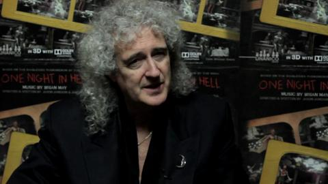 Brian May: 'Foo Fighters Are Dangerous'