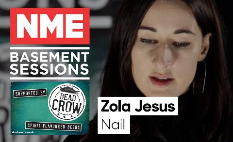Zola Jesus Plays Stripped-Back 'Nail' - NME Basement Sessions