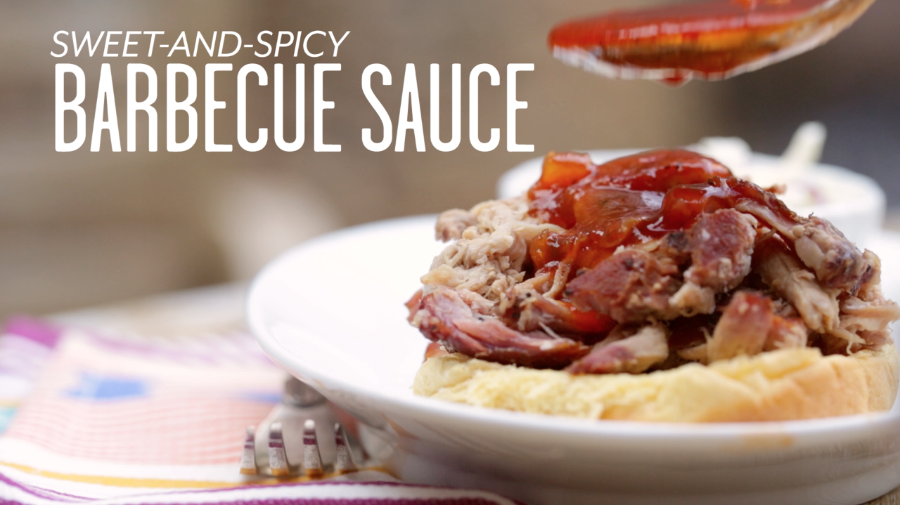 Sweet and Spicy Barbecue Sauce Recipe - Southern Living