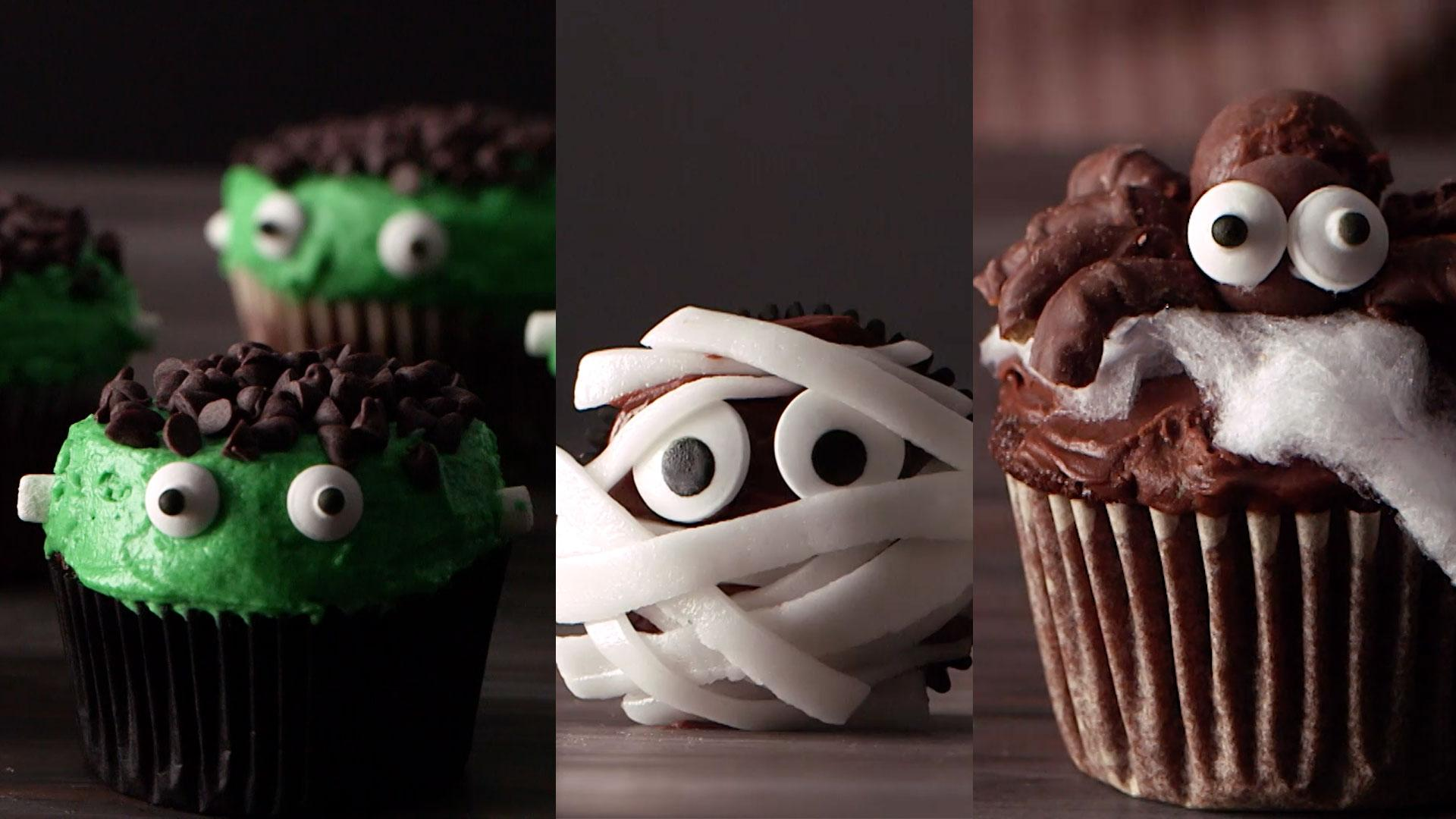 3 Halloween Cupcakes Your Party Needs