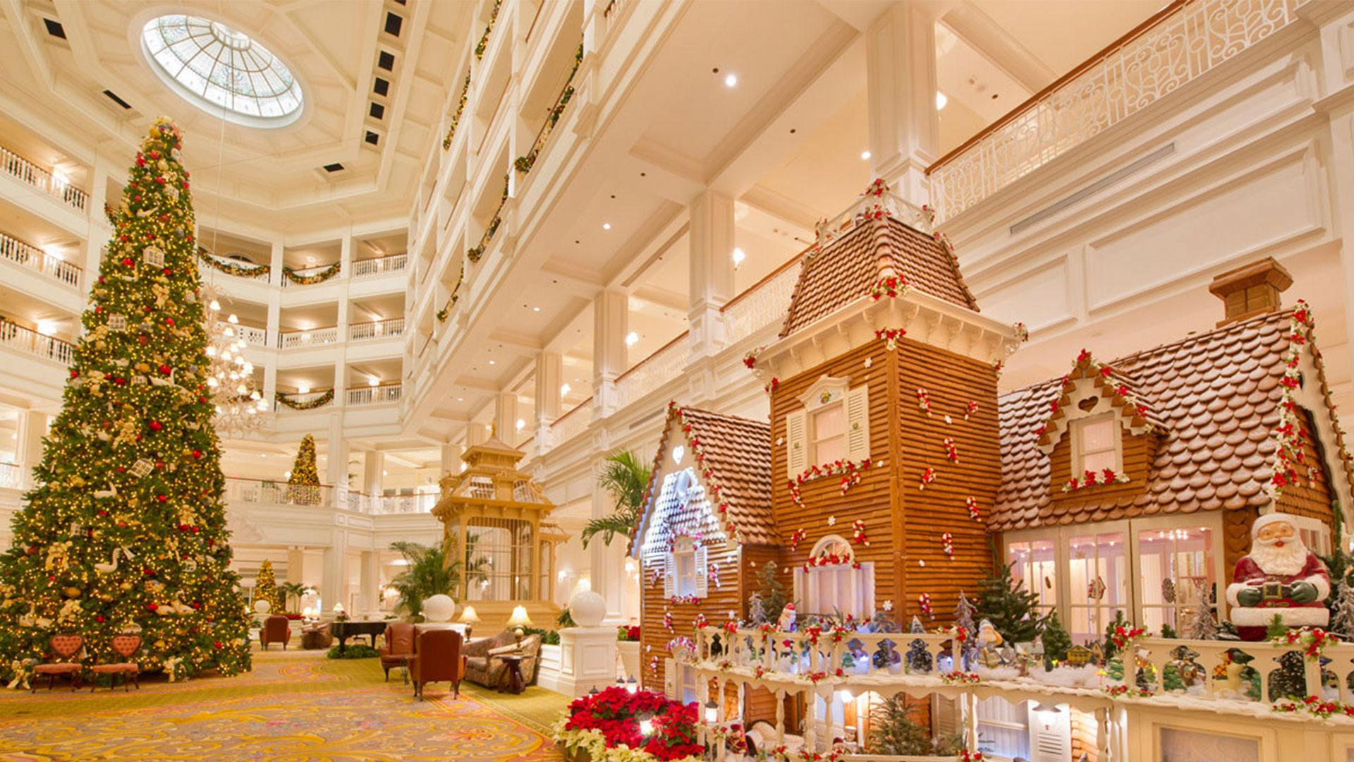WATCH: These Life-Size Gingerbread Houses at Disney World Are Guaranteed to Make Your Spirits Bright