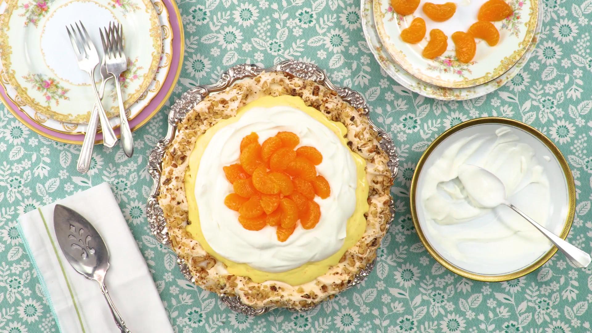 Florida Orange Grove Pie Recipe
