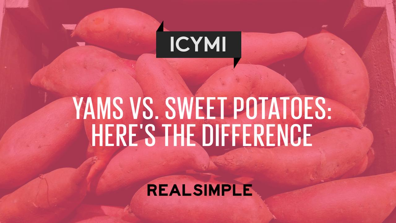Yams vs. Sweet Potatoes: Here's the Difference