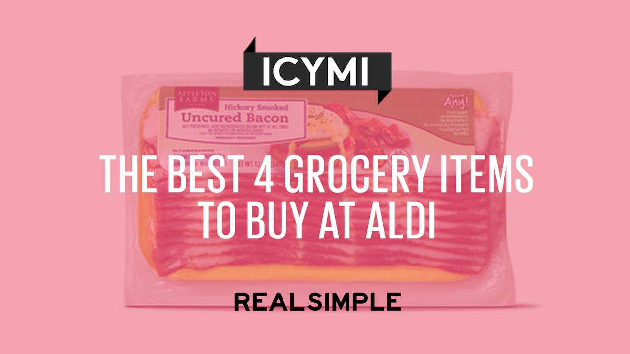 The Best 4 Grocery Items to Buy at Aldi