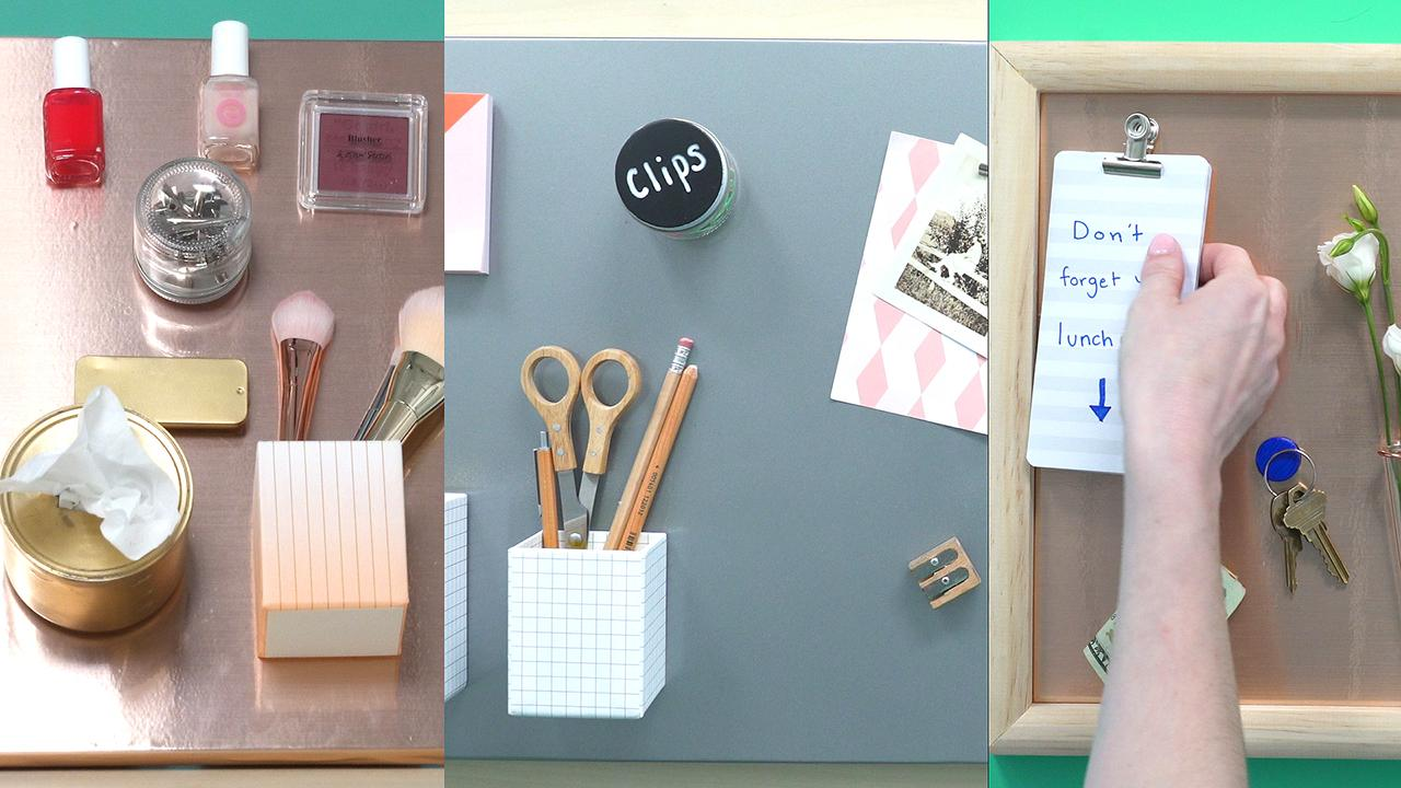 How to Get Organized With Magnet Boards
