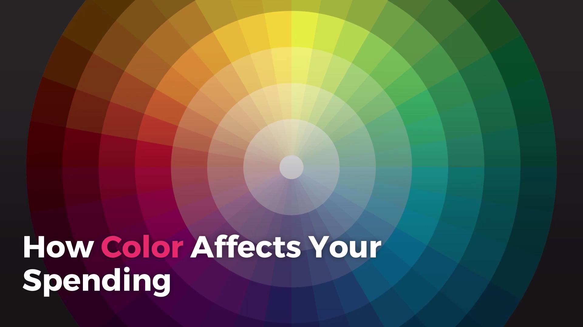 How Color Affects Your Spending