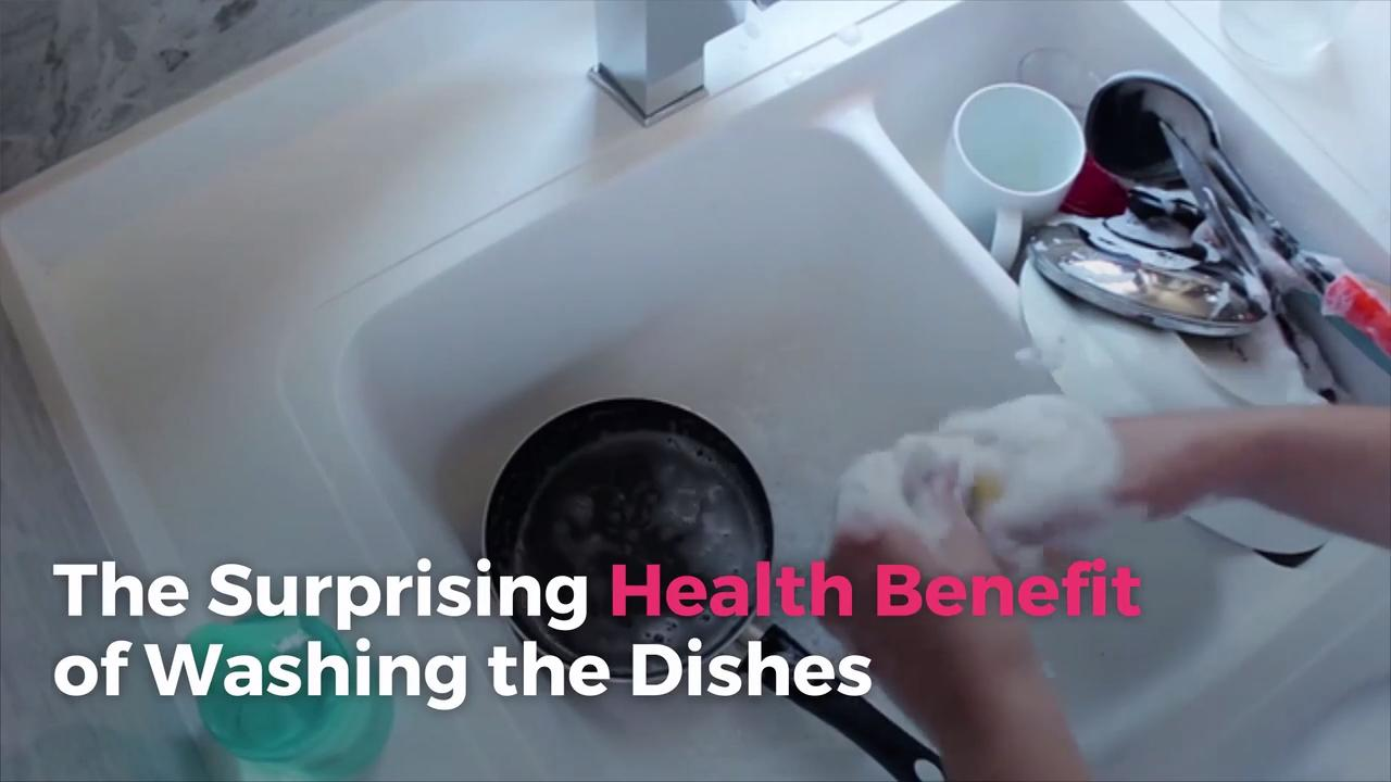The Surprising Health Benefit of Washing the Dishes
