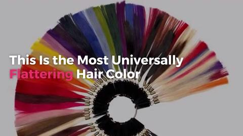 This Is the Most Universally Flattering Hair Color