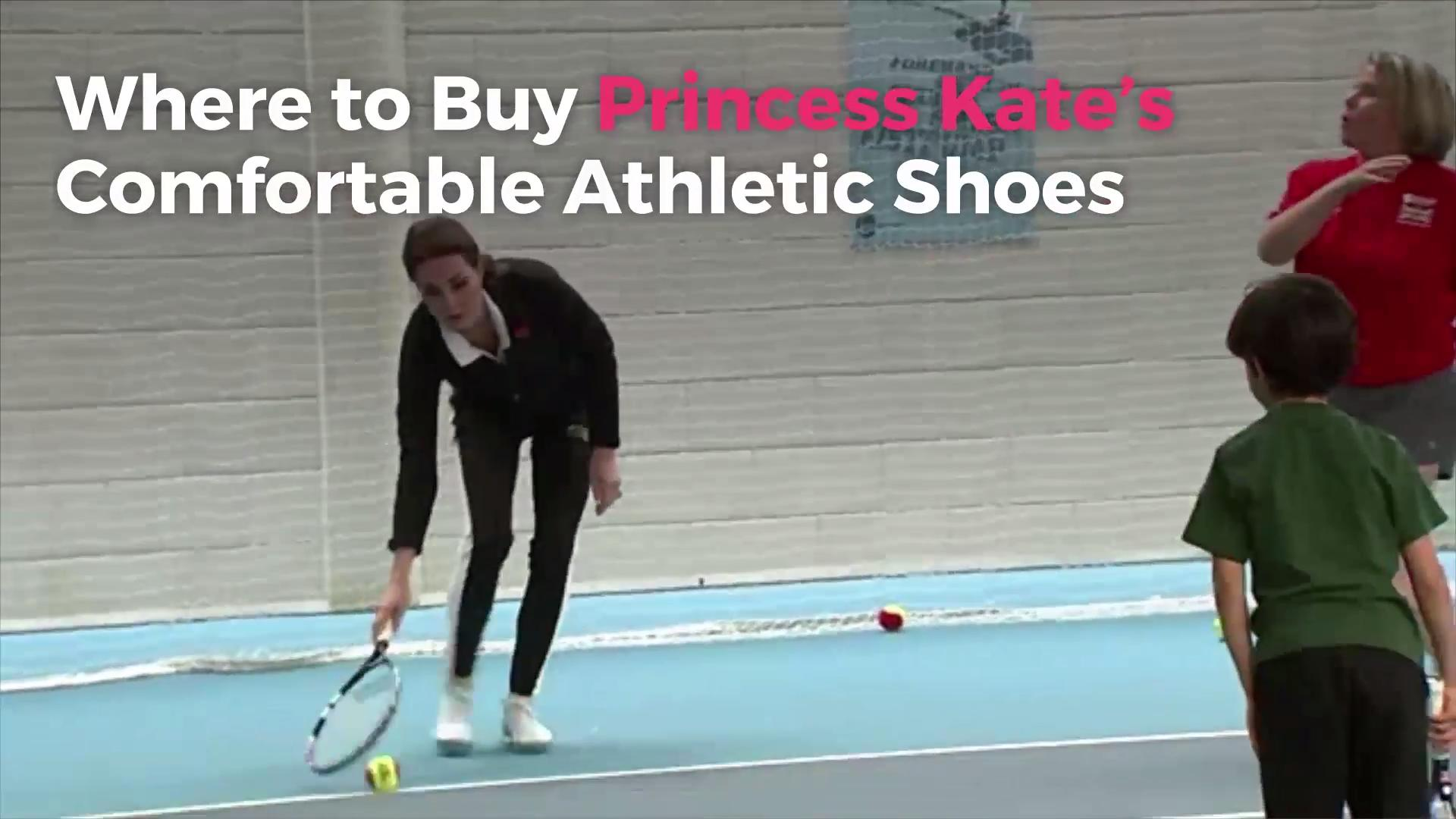 Where to Buy Princess Kate's Comfortable Athletic Shoes