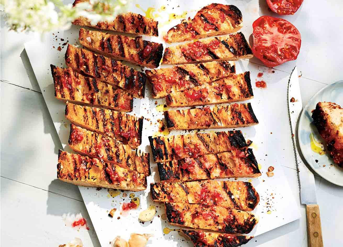Garlicky Pan Con Tomate