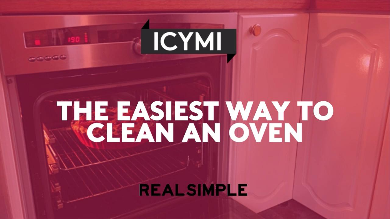The Easiest Way to Clean an Oven