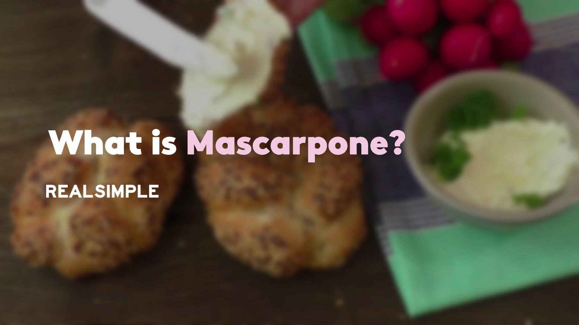 What is Mascarpone?