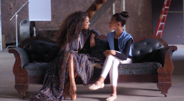 'Mentor & Mentee' with Misty Copeland