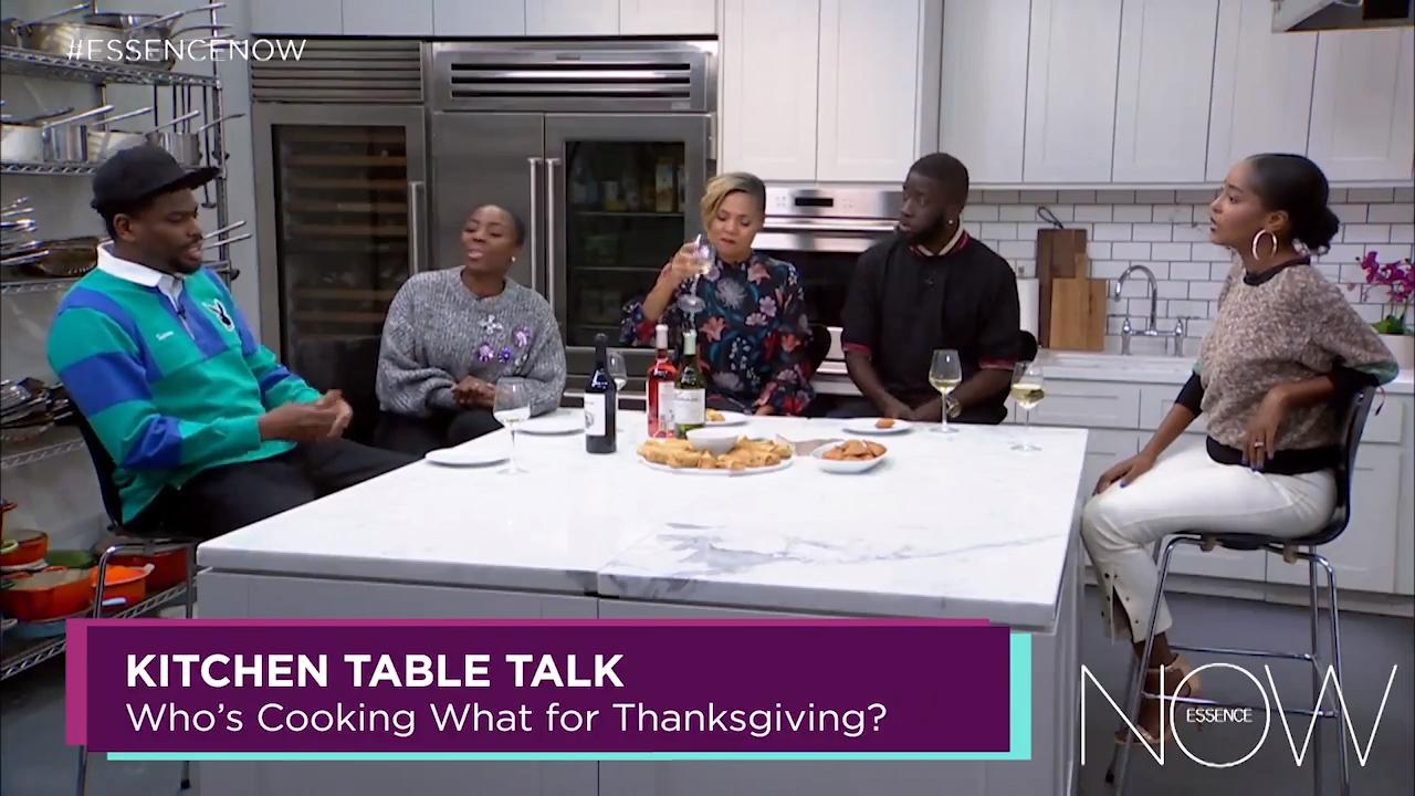 Essence Now November 21: Dry Turkey, Uninvited Guests, and Cousins Who Don't Cook on Thanksgiving