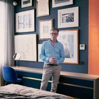 Designers at Home: Be inspired by Daniel Hopwood's bedroom project