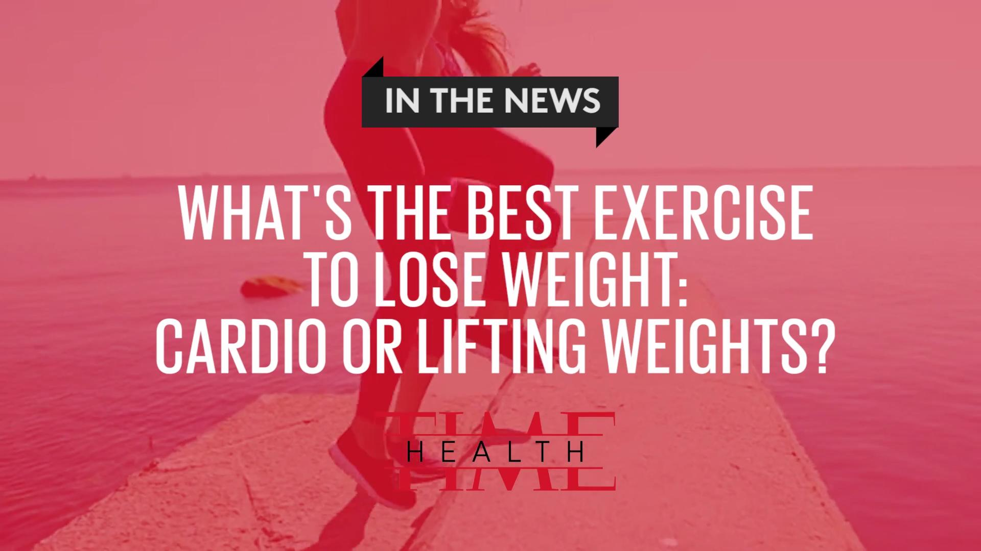 best exercise to lose weight cardio