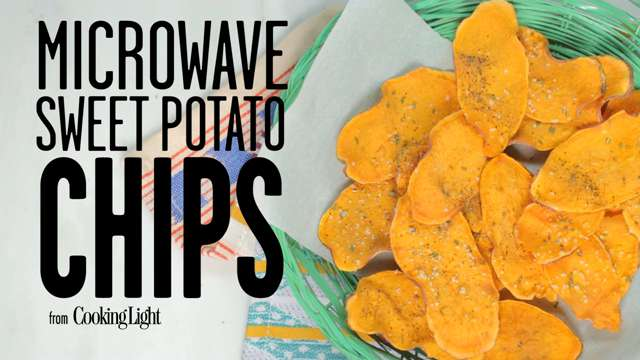 Videos cooking light how to make crunchy homemade sweet potato chips forumfinder Gallery