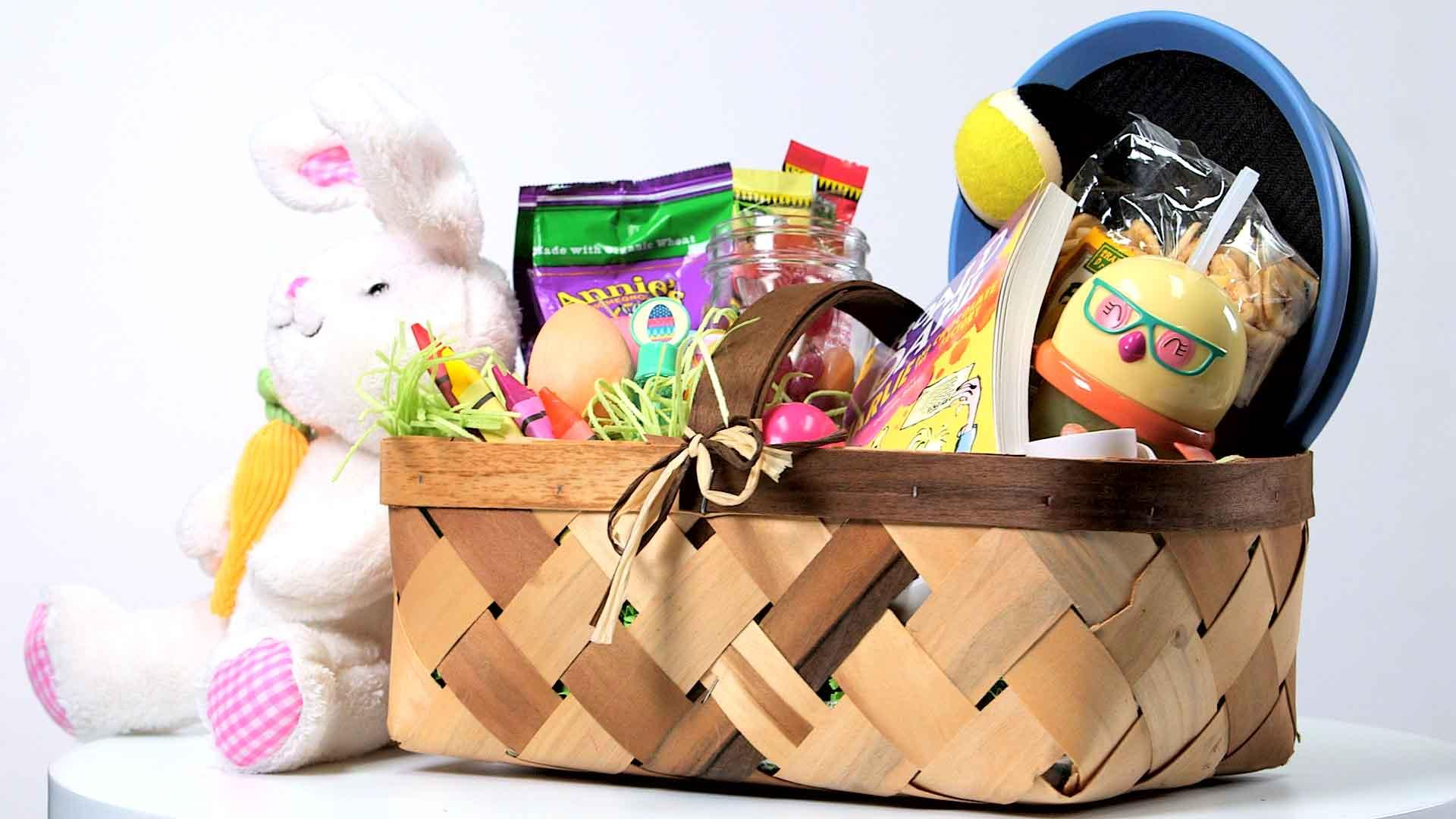 How to pack a healthy easter basket cooking light negle Image collections