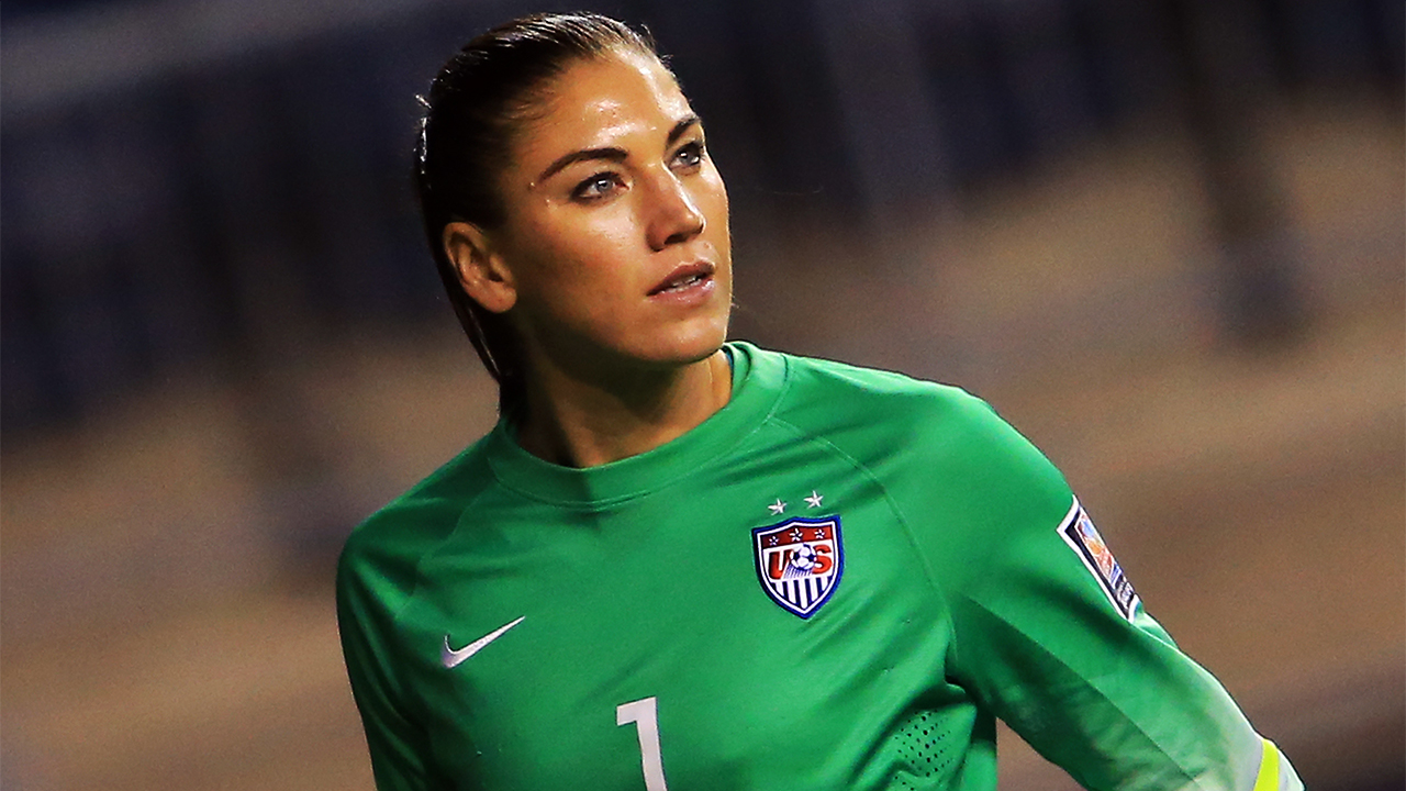 quality design e1ec4 9ca36 Hope Solo trained with U.S. Soccer coaches during 30-day suspension