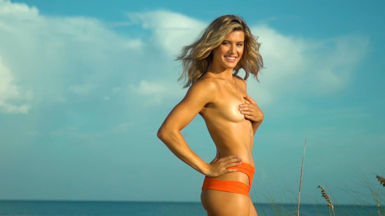 eugenie bouchard goes topless in sports illustrated swimsuit edition