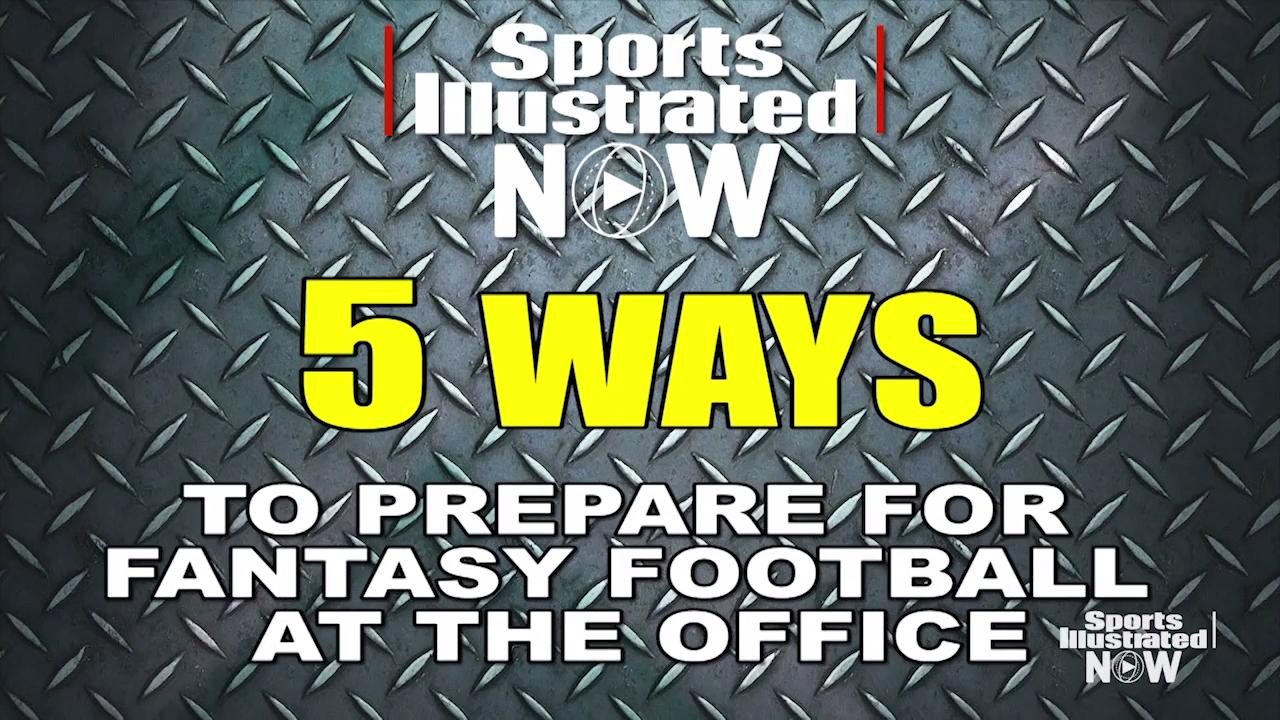 Five Ways to Prepare for Fantasy Football While at Work