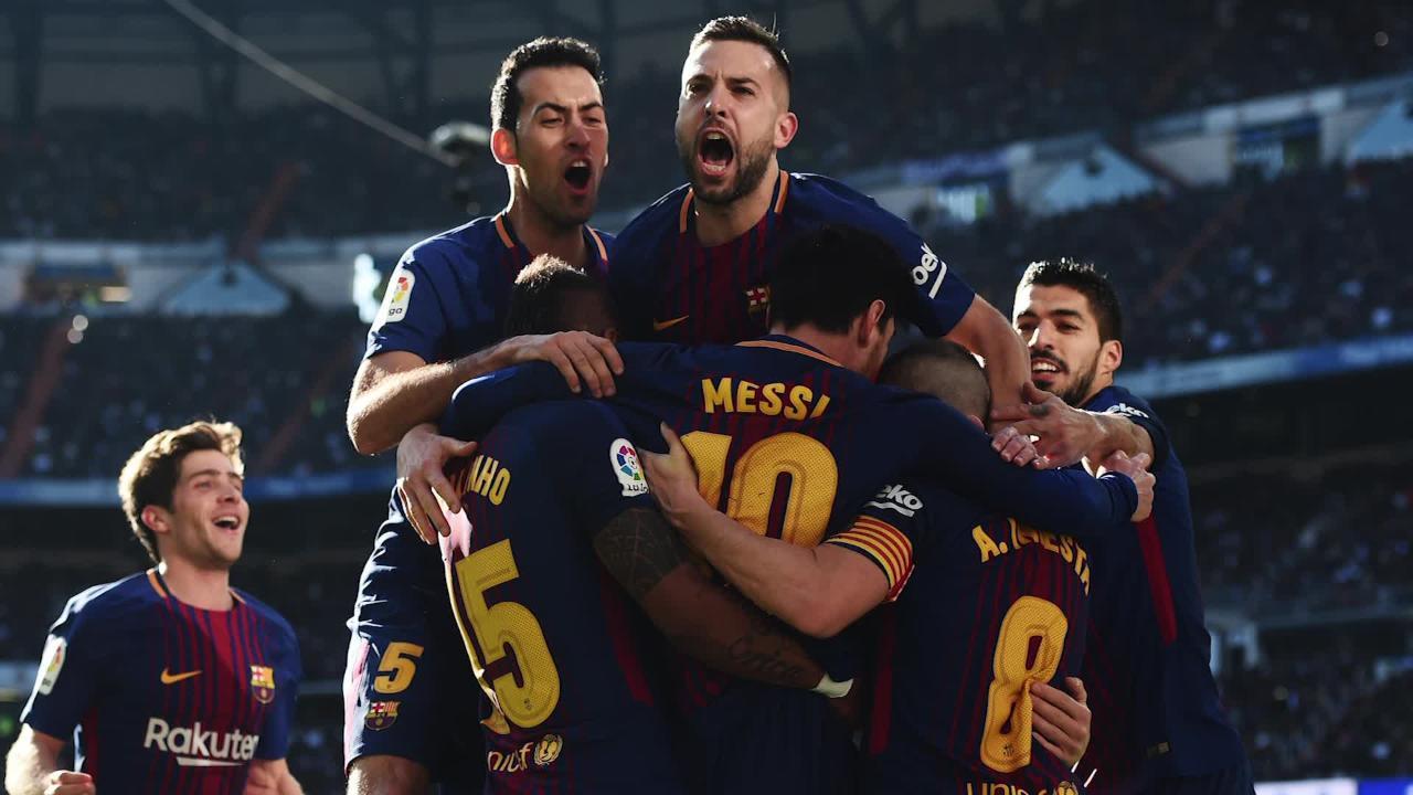 Real Madrid 0, Barcelona 3: Suarez, Messi star in Clasico (VIDEO ...