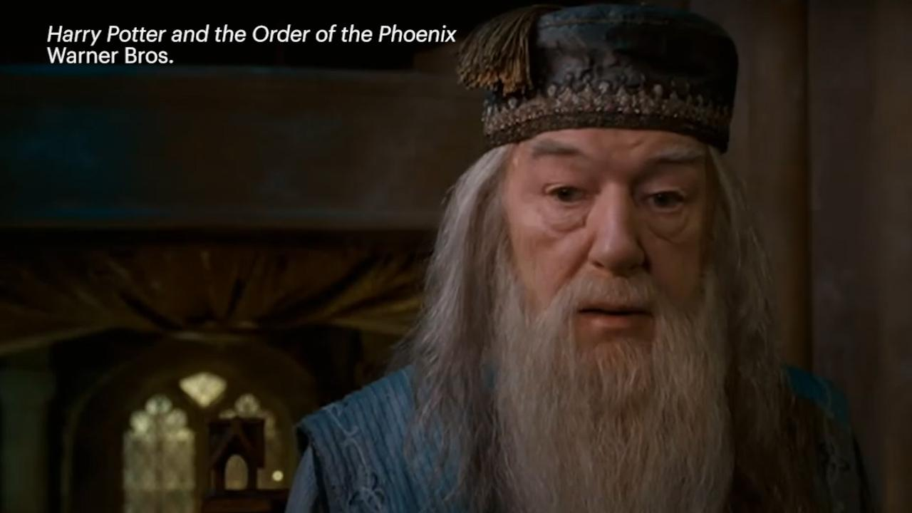 Harry potter young dumbledore casting in fantastic beasts for Elder wand markings