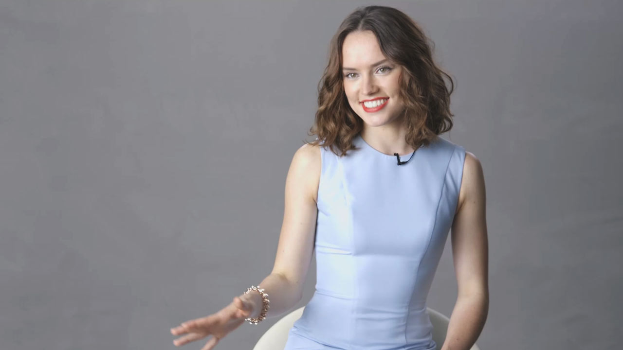 Related Video Daisy Ridley On Landing A Role In Star Wars After Months Of Auditions