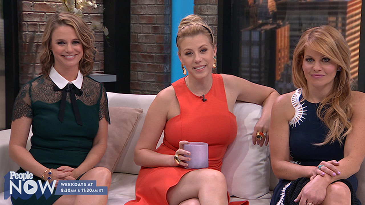 Candace cameron bure learned her best beauty tip on full for Beauty full house