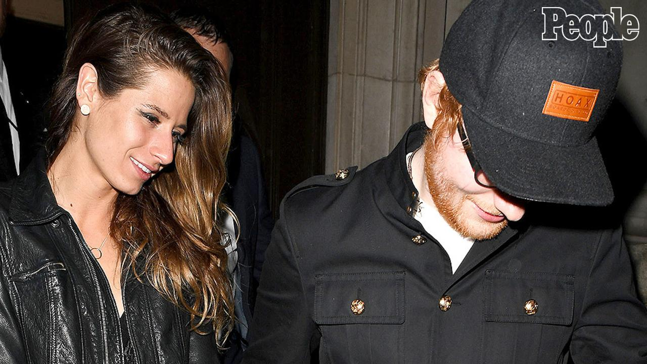 Ed Sheeran Gives His Girlfriend The Sneakers Right Off His