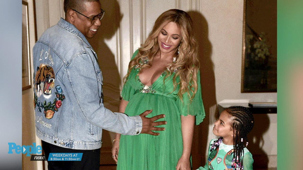 Blue Ivy And Beyonc 233 Pose Together In Adorable Snaps
