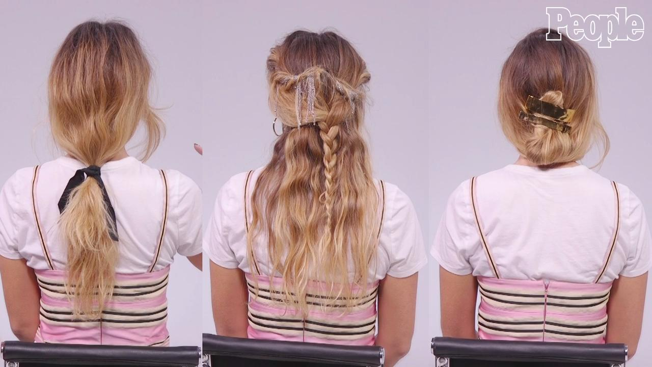 How To Choose A Wedding Hairstyle PEOPLEcom - Video girl hairstyle