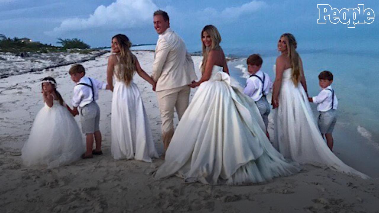 Kim Zolciak Biermann Renews Vows To Husband Kroy In Gorgeous Beach Ceremony