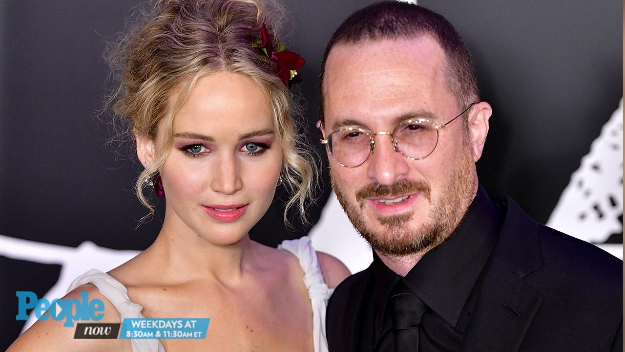 Jennifer Lawrence and Darren Aronofsky Pose (Together!) as the Actress  Reveals What She Loves About Him   PEOPLE.com