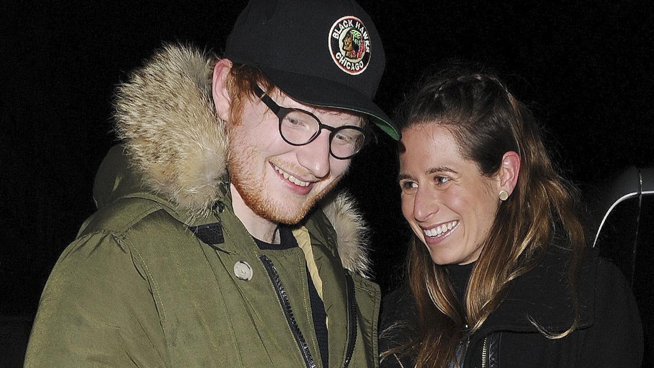 Ed Sheeran and his girlfriend Cherry Seabron
