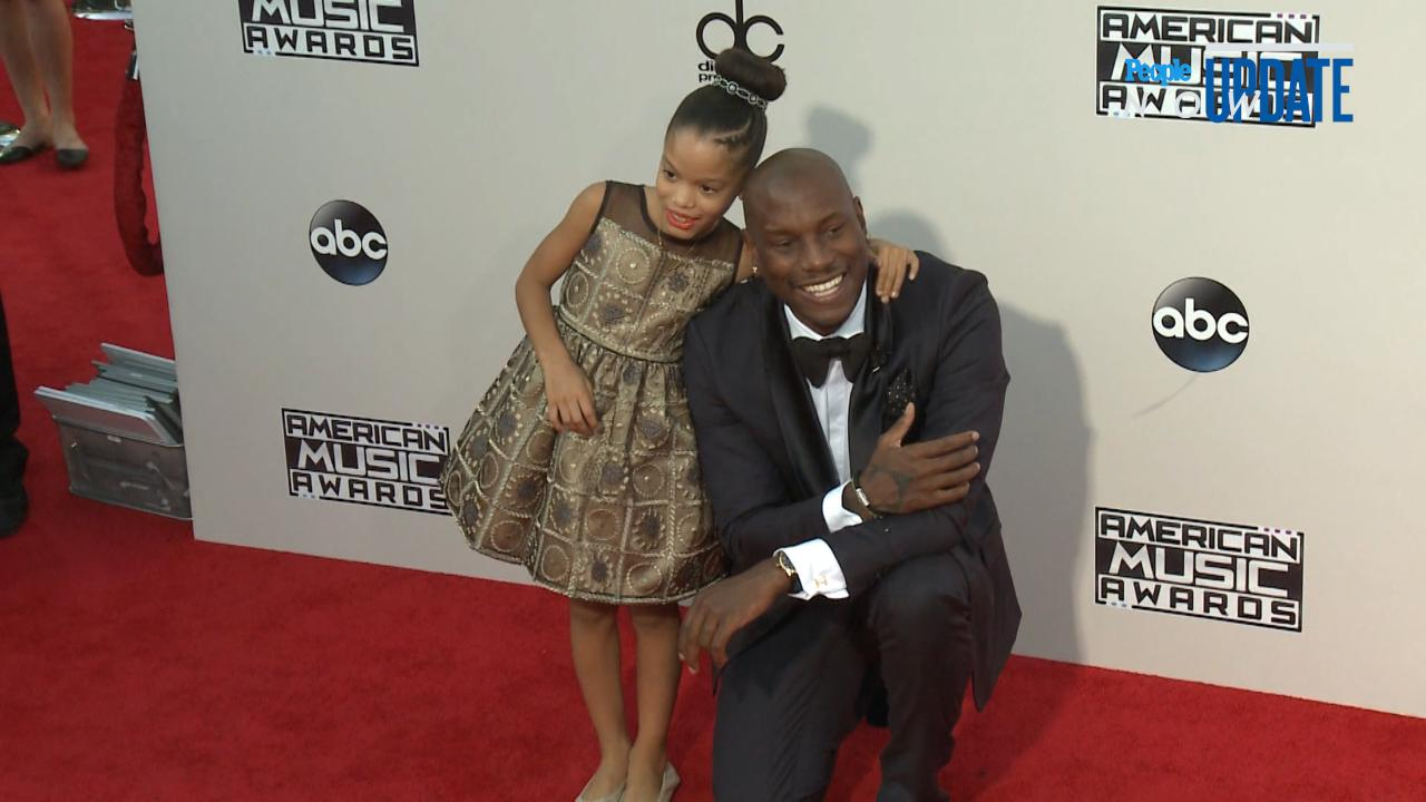 Tyrese Gibson with his daughter Shayla Somer Gibson