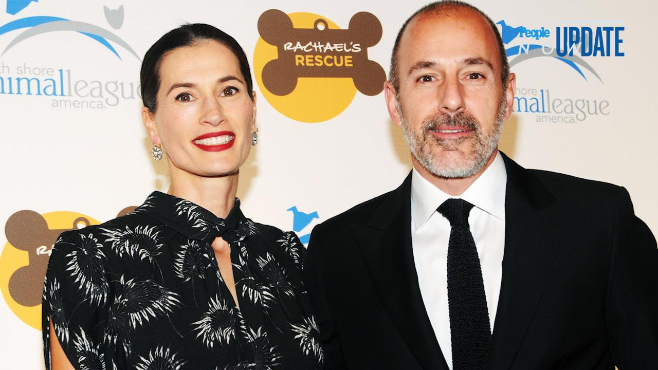 Matt Lauer Wife Split