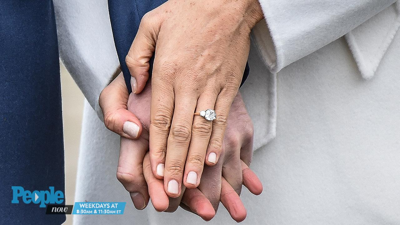 by giving markle a ring with a link to his mother harry was following in the footsteps of his older brother prince william when william proposed to kate - Princess Kate Wedding Ring
