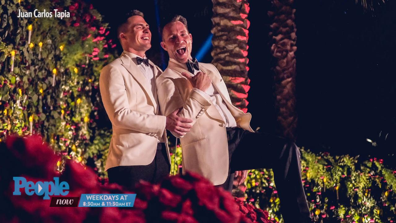 Colton Haynes and Jeff Leatham Are Married   PEOPLE.com