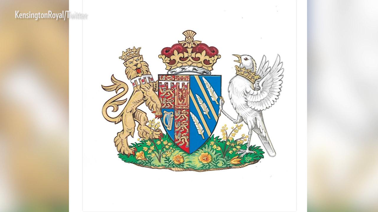 Behind The Design Of Meghan Markles Coat Of Arms Time