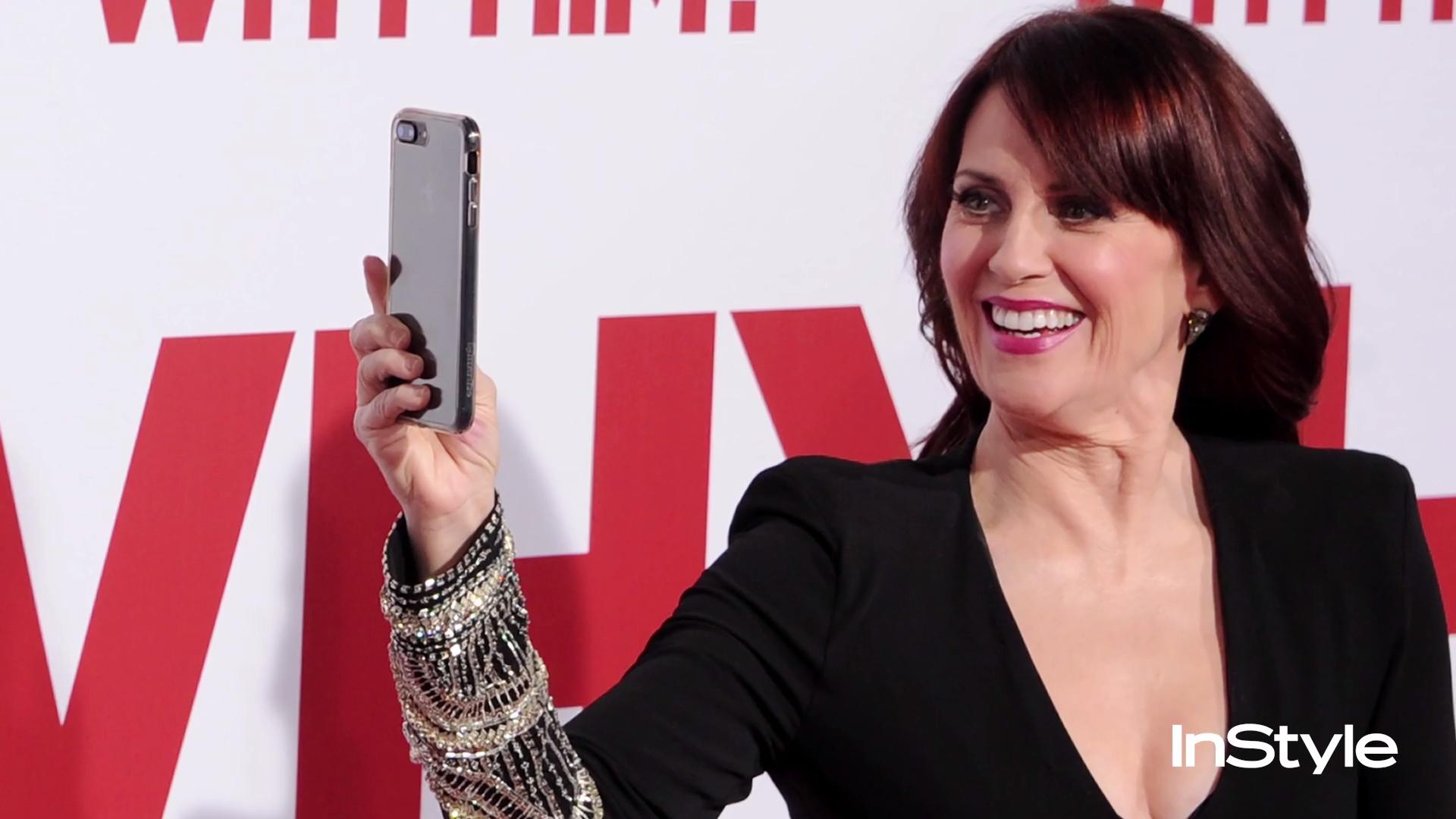 Megan Mullally Shares Her Red Carpet Style | InStyle.com