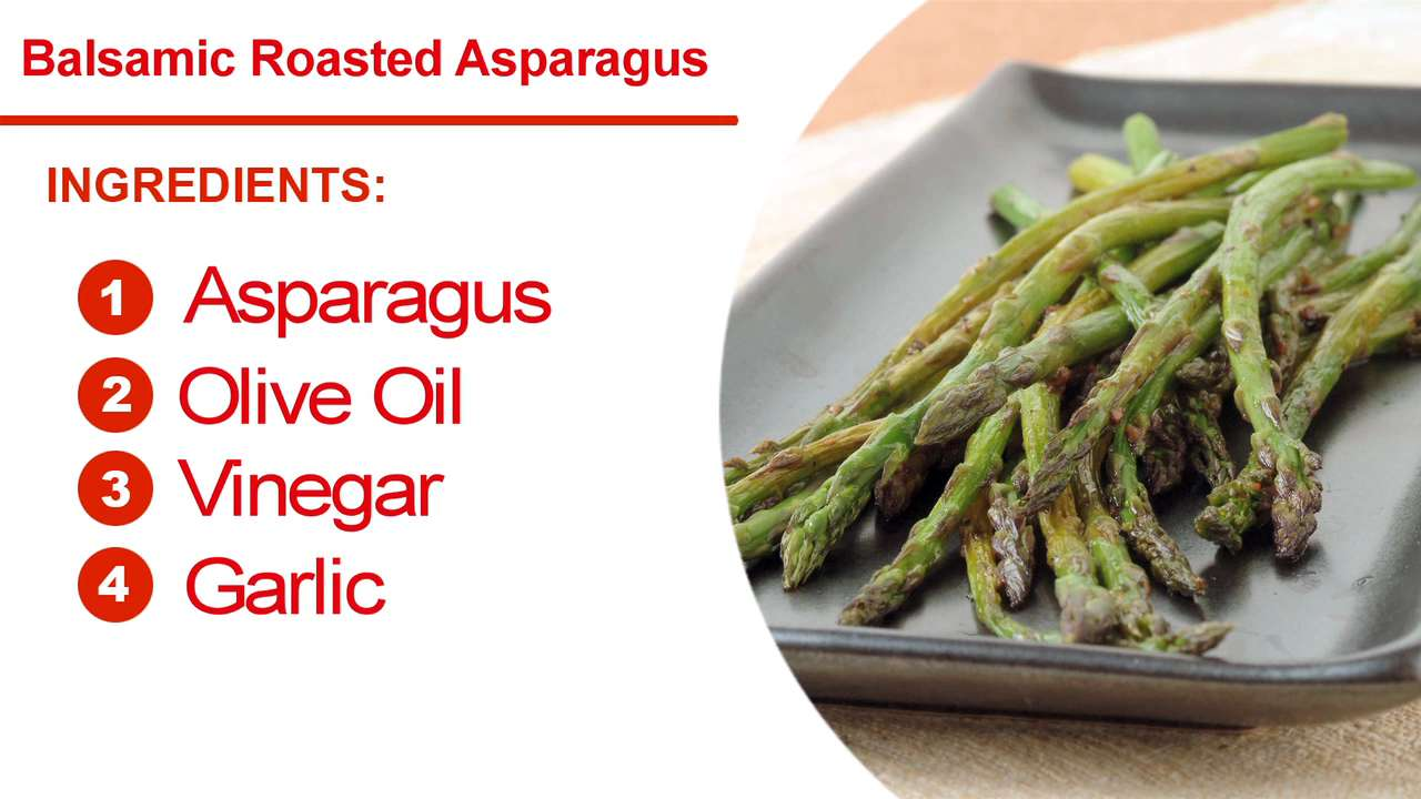 Quick & Easy · Five & Dine: How To Cook Balsamic Roasted Asparagus