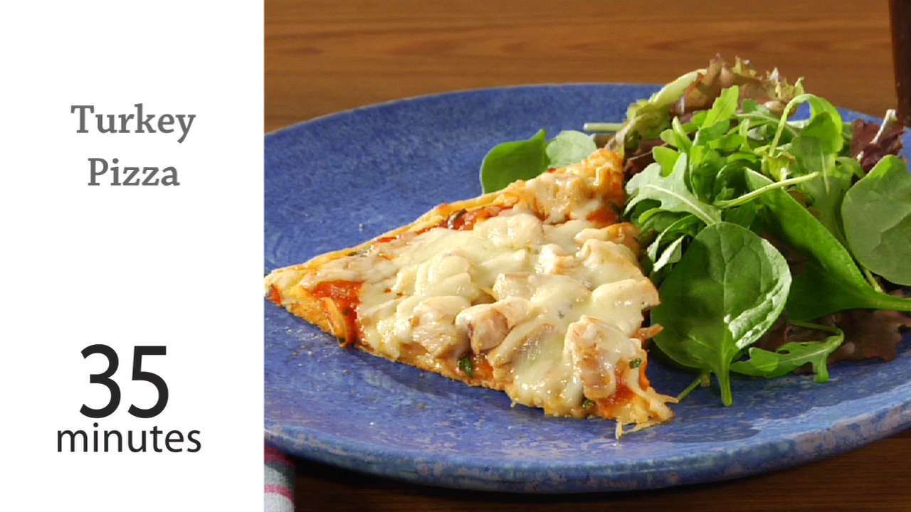 How To Cook A Pizza How To Cook Turkey Pizza Myrecipes