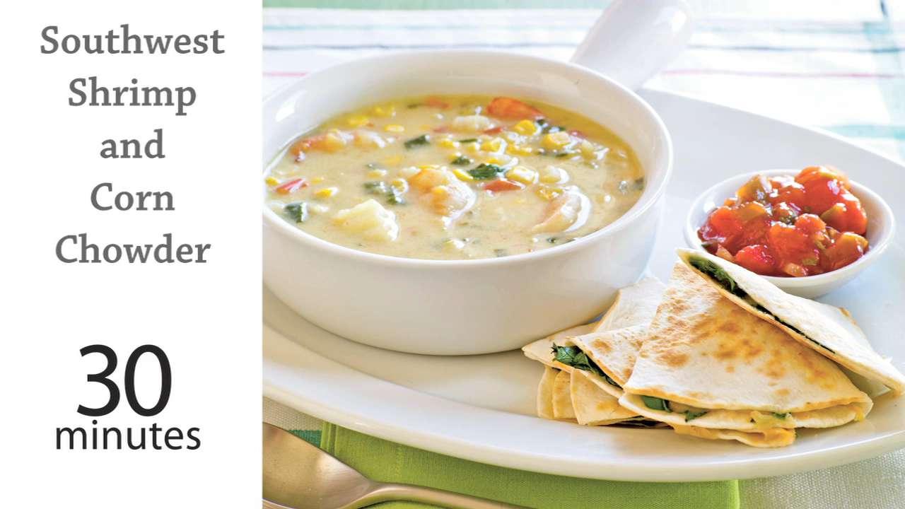 recipe: corn and shrimp soup recipe easy [28]