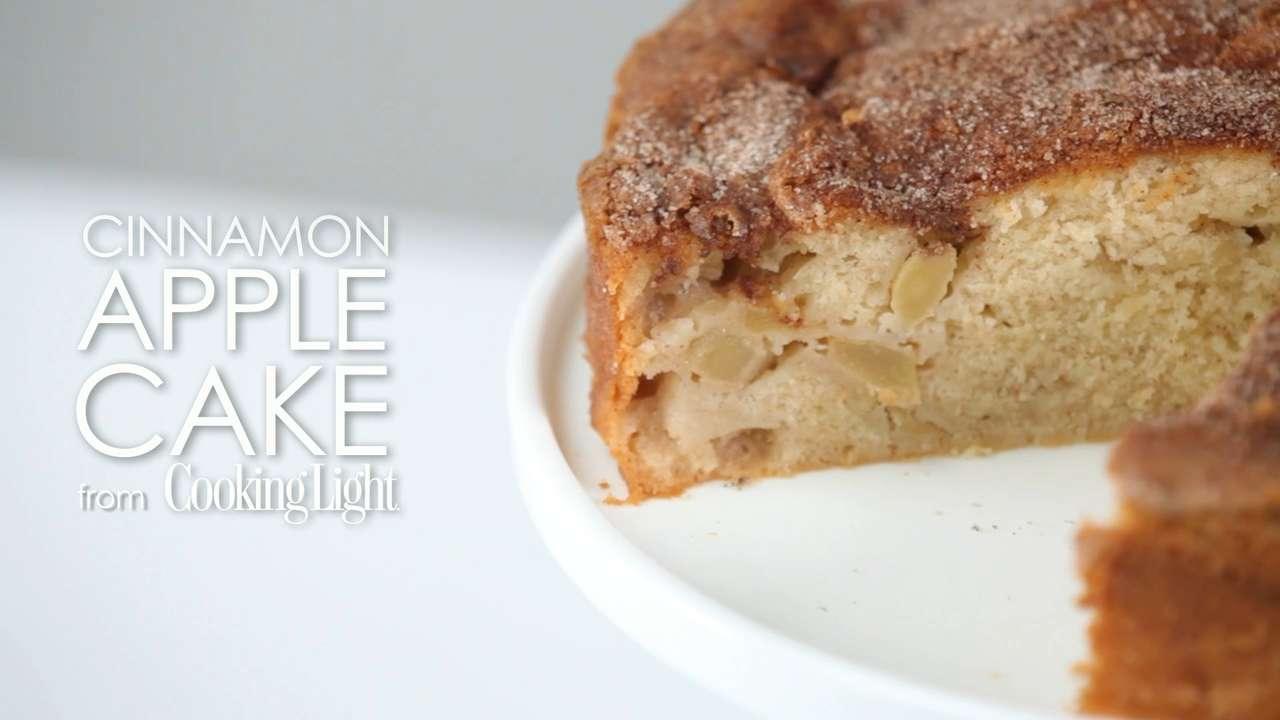 Cinnamon Apple Cake Recipe Myrecipes
