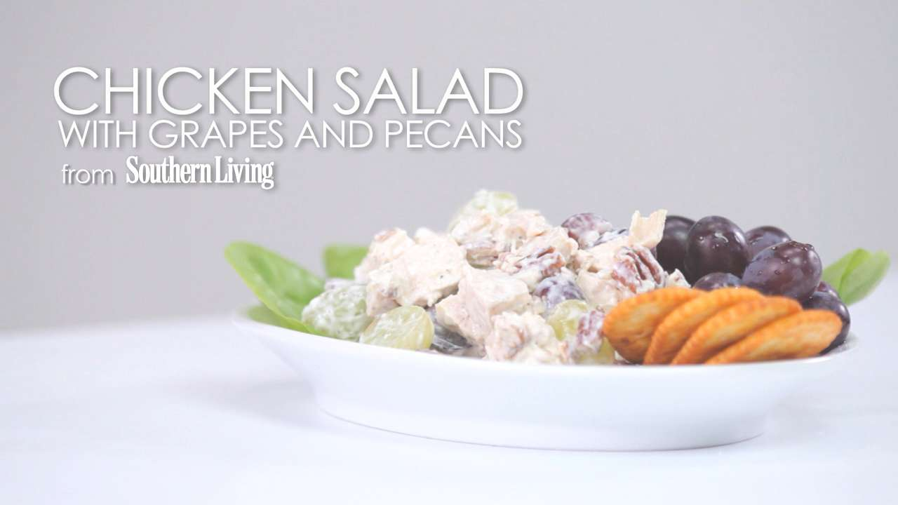 Perfectly delicious chicken salad with grapes and pecans defaults done southern living recipe chicken salad forumfinder Gallery
