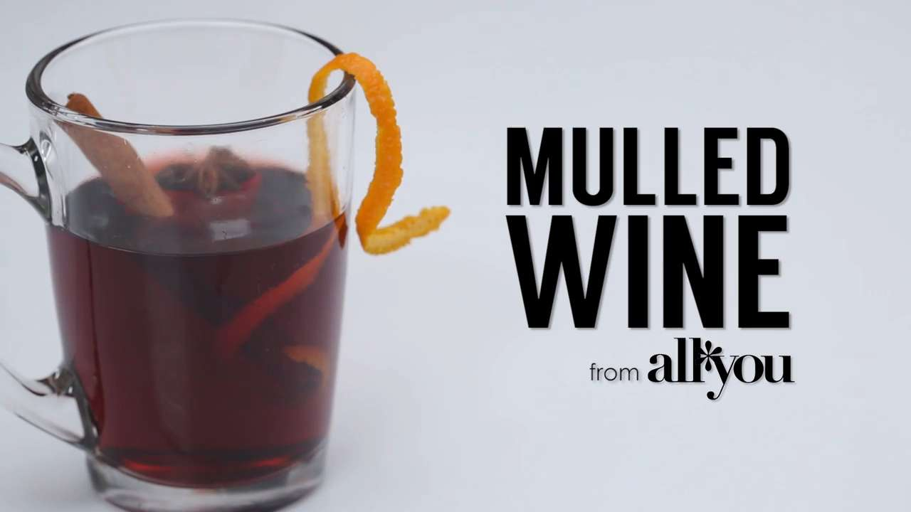 How to make mulled wine video myrecipes - Make perfect mulled wine ...