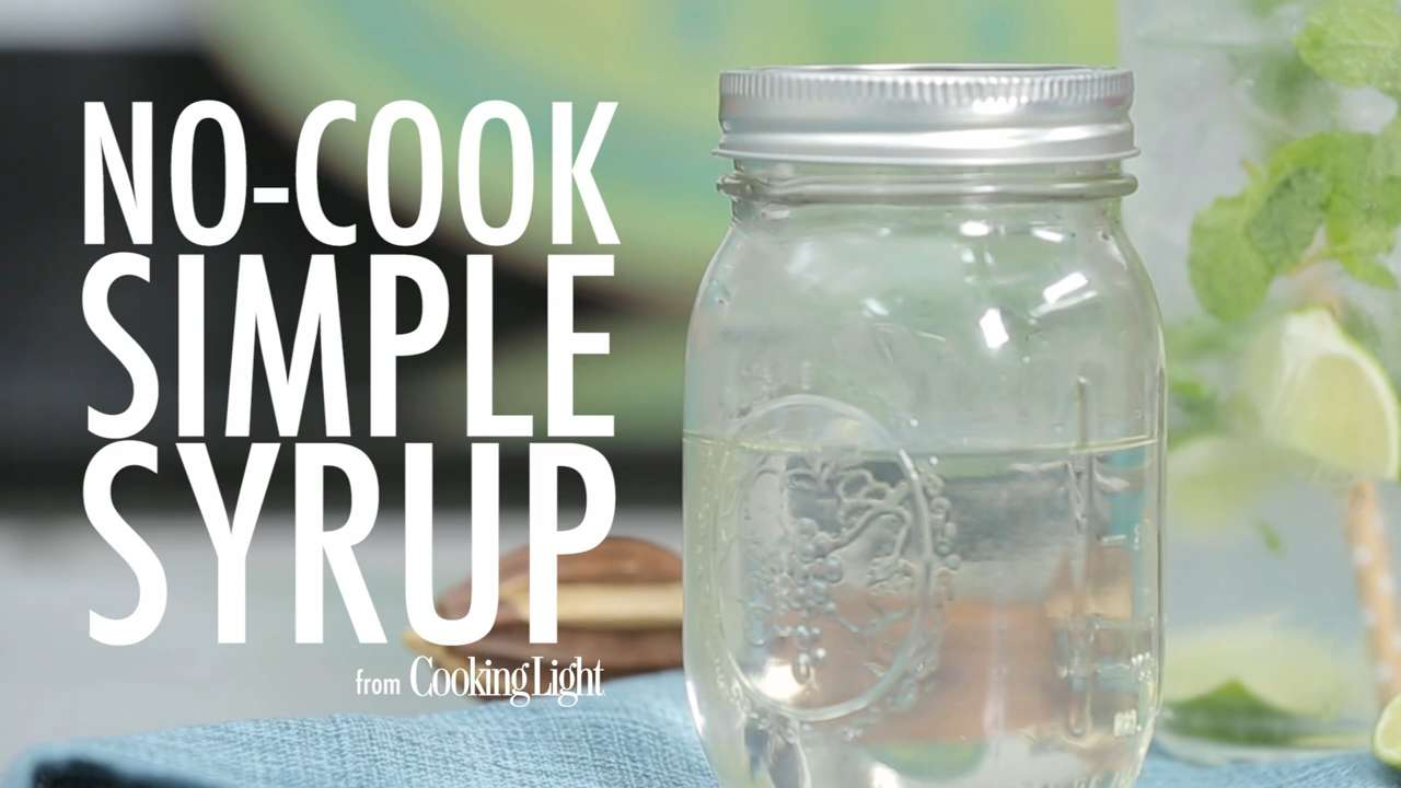 how to make simple syrup in microwave