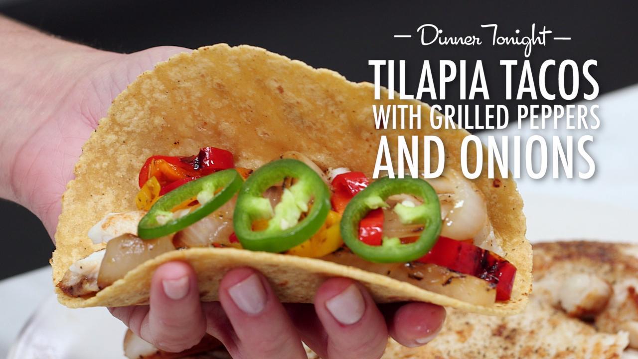 Tilapia recipes myrecipes for Flounder fish tacos
