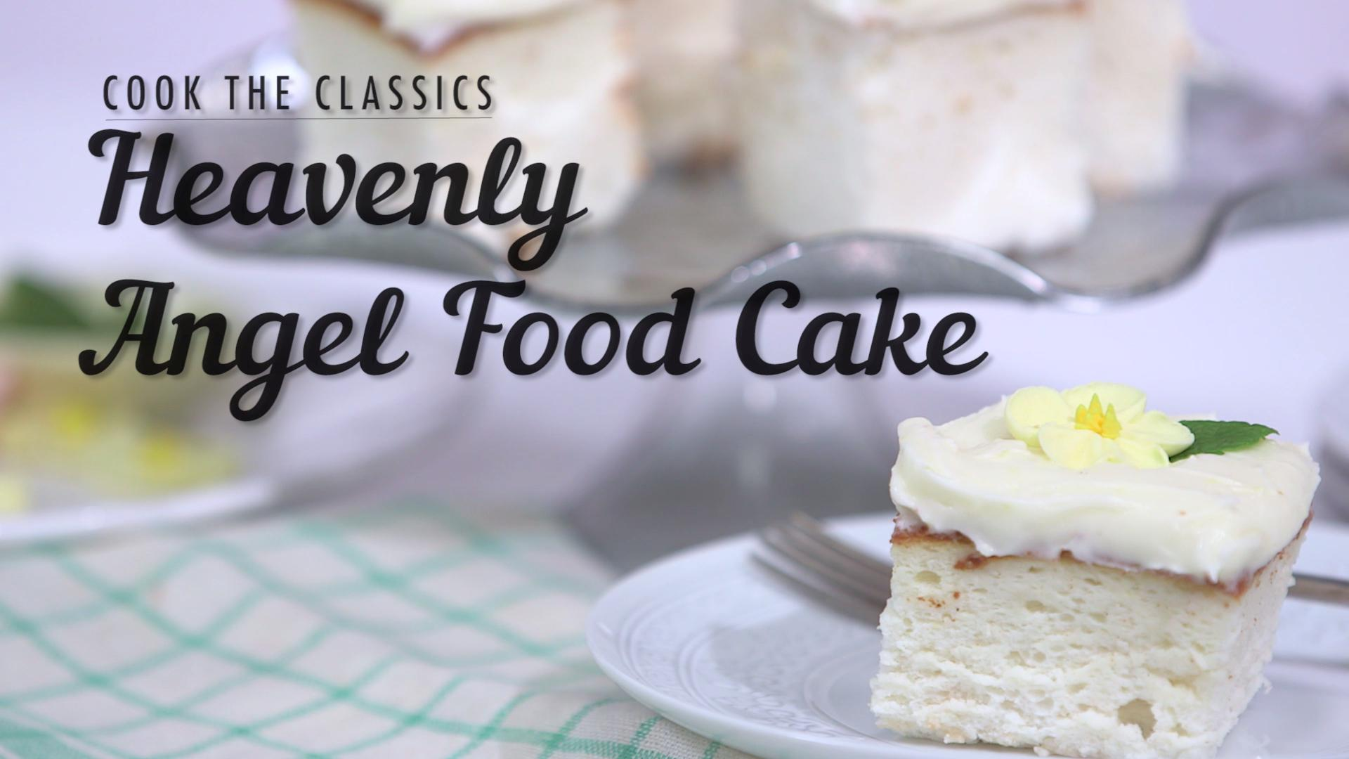 The Angel Food Cake Hack Every Southerner Needs To Know